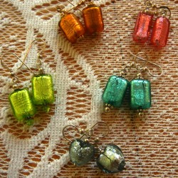 Murano Glass Earrings...