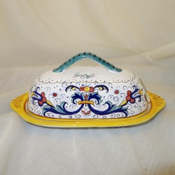 Deruta Italy ceramic Butter...