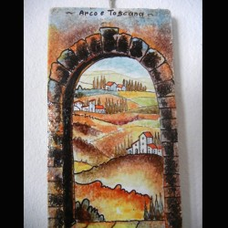Tuscany Fresco Arco e Toscano
