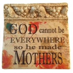 Mother Italian Fresco Tile