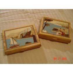 Sorrento Inlaid Wood Box...