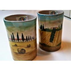 Tuscany Italy Ceramic Mugs...