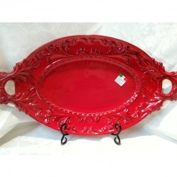 Italian Oval Tray with Handles