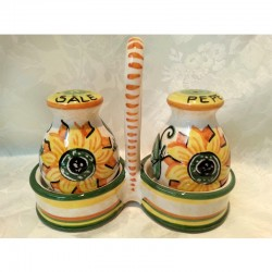 Italian Ceramic Sunflower...