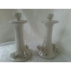 Artisan Candlestick with...