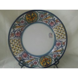 Dinner Plate from Deruta Italy