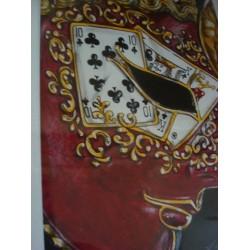 Original Venetian Mask Drawing
