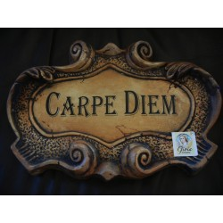 Carpe Diem Stone Wall Decor