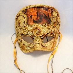 Gondola Crown Venetian Mask
