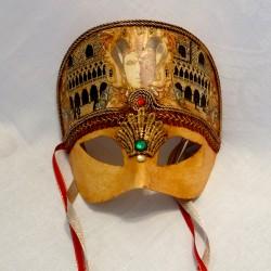 Jester Crown Venetian Mask