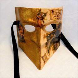 Angelic Bauta Venetian Mask