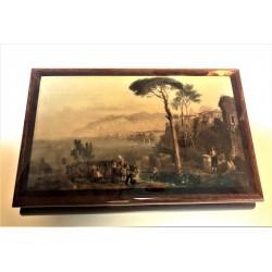 Inlaid Wood Sorrento Scene...