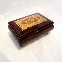 Inlaid Wood Music Box...