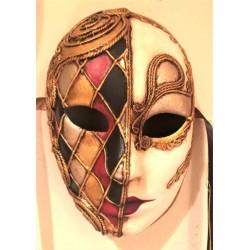 Harlequin Venetian Mask