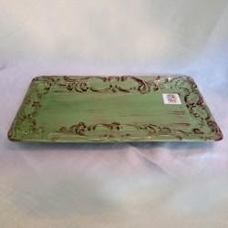 Large Green Serving Platter