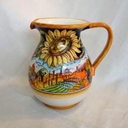 Large Sunflower Pitcher