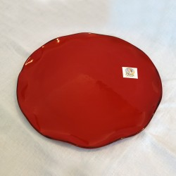 Medium Red Serving Plate