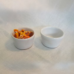 Small Serving Bowls White