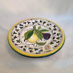 Salad Plate Lemon Plum
