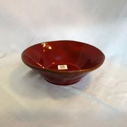 Red Ceramic Bowl Large