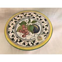 Salad Plate Grapes Plum