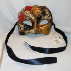 Joker Mezzo Venetian Mask