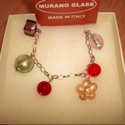 Murano Glass Jewelry Charm...